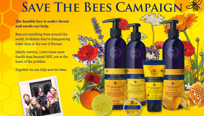Bee Lovely charities