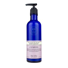 Geranium & Orange Body Lotion 200ml