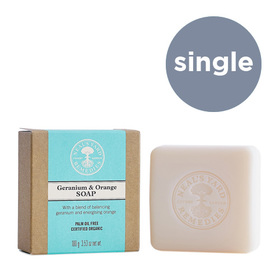 Geranium & Orange Soap 100g