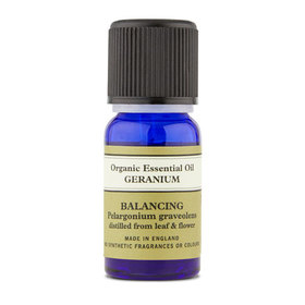 Geranium Organic Essential Oil 10ml With Leaflet