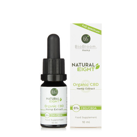 BioBloom Natural Eight Organic CBD Hemp Extract 8%