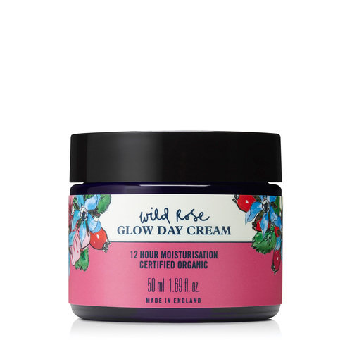 Wild Rose Glow Day Cream 50ml, Neal's Yard Remedies
