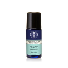 Roll On Deodorant Peppermint & Lime 50ml 2021